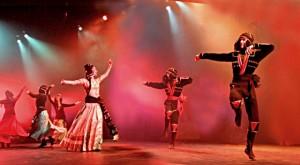 концерт Тимура Иванейшвили, танец