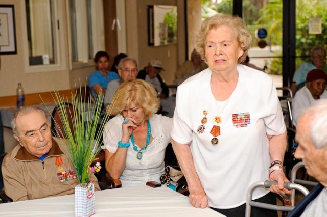 Ветераны отмечают Праздник 9 Мая в Майами