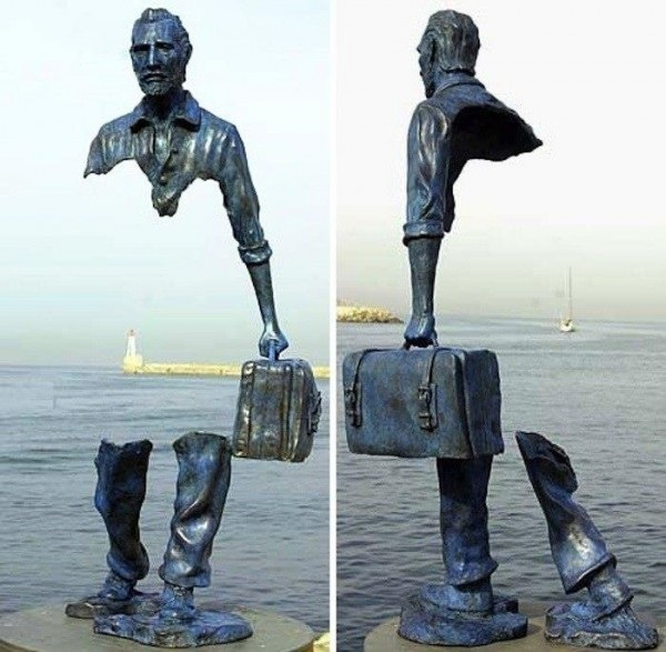 Памятник Ван Гогу, Сен-Поль-де Ванс, Франция. Скульптор Бруно Каталан