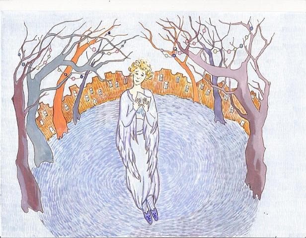 Иллюстрация московского художника Александры Молчанюк.