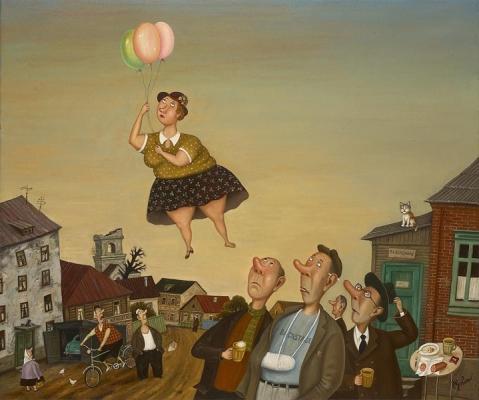 работа «Все возможно» минского художника Валентина Губарева