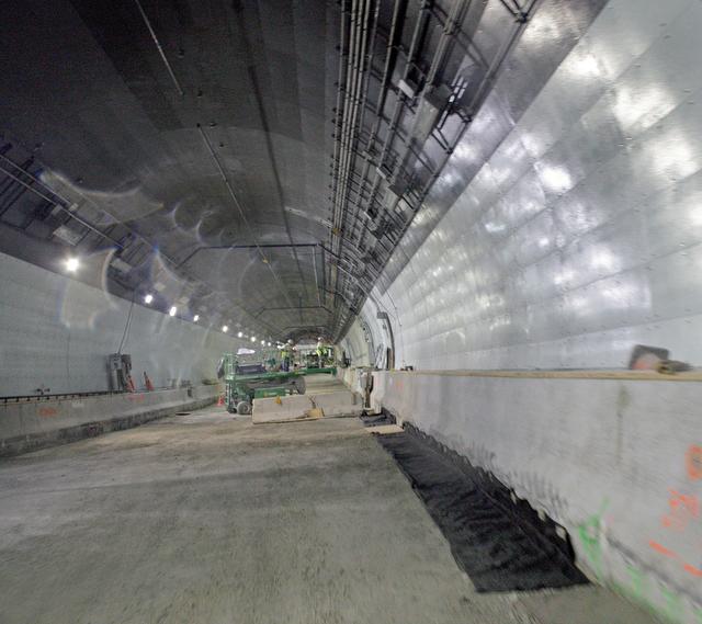 подводный туннель под заливом Бискейн