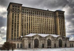 Железнодорожная станция Мичигана, Детройт, США