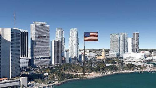 Флаги на башнях