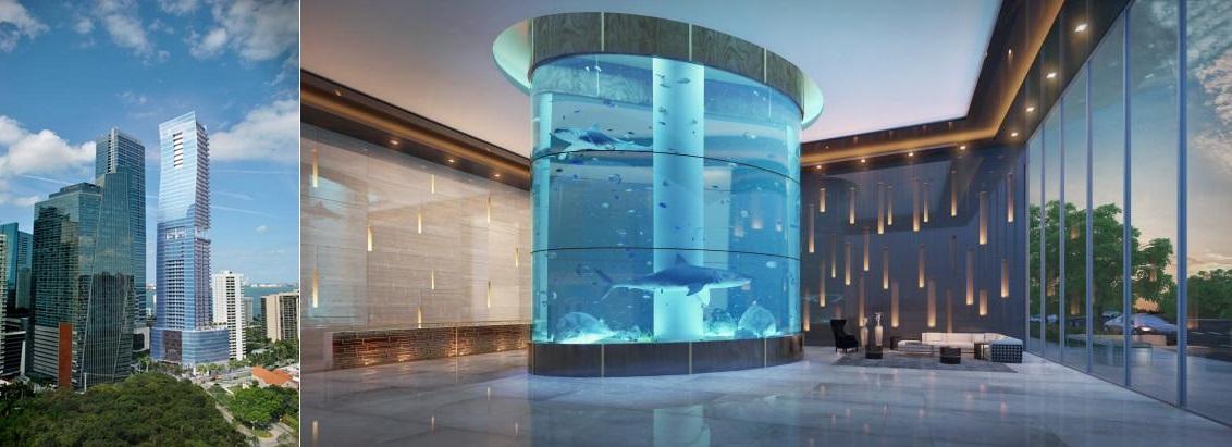 Дом для акулы
