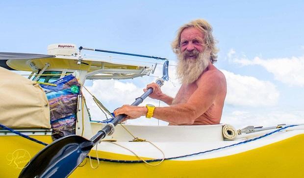 И на веслах во Флориде свой закончил он поход!