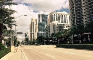 Самый вертикальный город Флориды