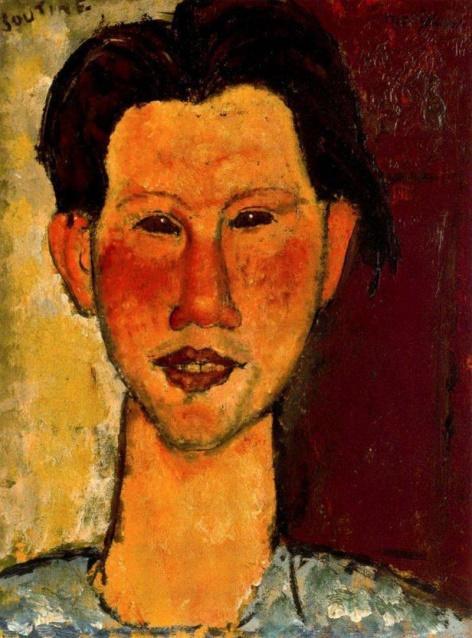 Портрет художника Хаима Сутина, работа Амедео Модильяни