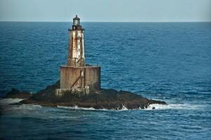 Одиночество маяка на рифе Святого Джорджа