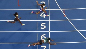 Золотой прыжок багамской бегуньи