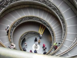 Ватикан. Лестница в небо