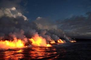 Море в Крыму, Крым – в дыму...