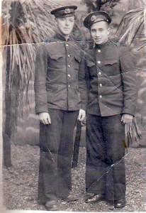 Михаил Ландер(слева) и Стас Козлов