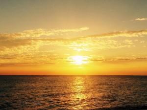 Опять океан. Опять утро...