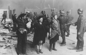 Восстание в Варшавском гетто подавлено. 1944 год.
