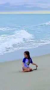 Девочка и океан