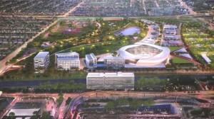 Футбольный стадион группы Бэкхема