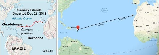 В бочке через океан к берегам Флориды