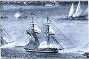 Шхуна HMS Fox