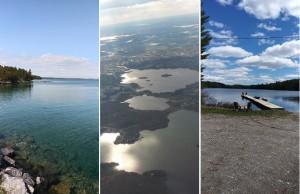 Два озера, два острова и сто островных озер